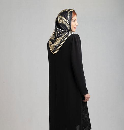 مانتو مجلسی کتی بلند اندامی مدل فرناز