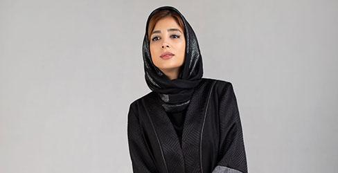 مانتو بلند ترکیبی کلوش مدل مصر