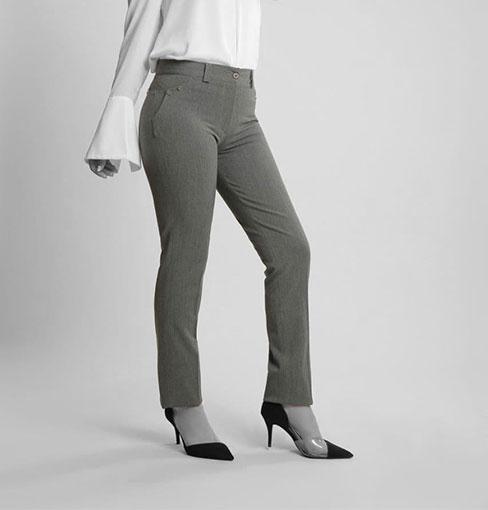 شلوار راسته زنانه مجلسی گاباردین مدل وردا