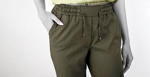 شلوار جیب دار زنانه tulay